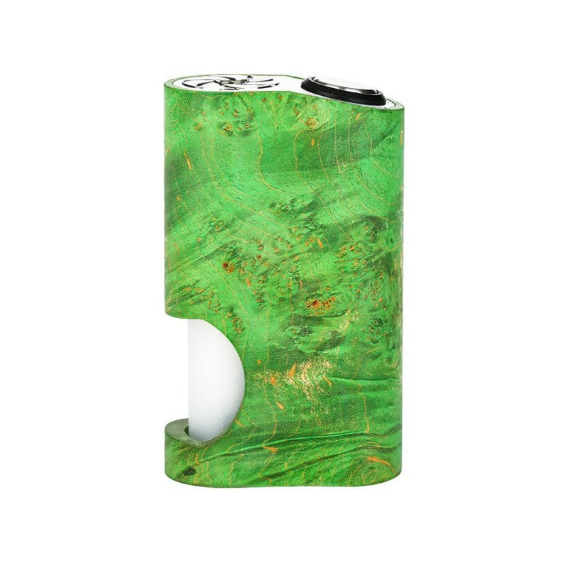 Arctic Dolphin Amber Stabilized Wood Squonk Akkuträger