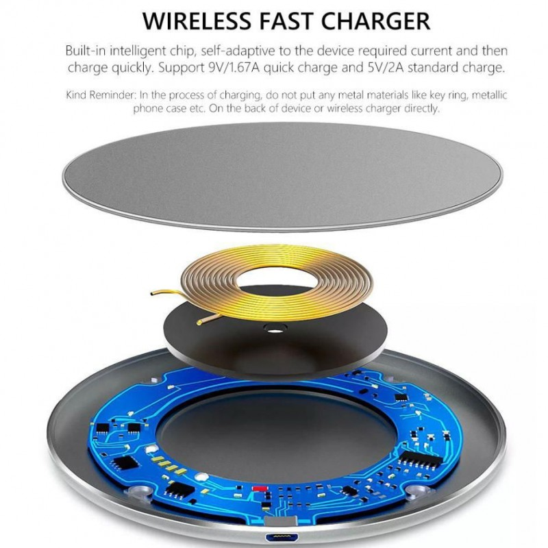 ECOFRI Gear Wireless Charging Akkuträger
